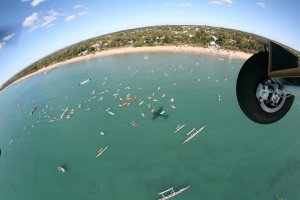 Paddle Out for Whales event.