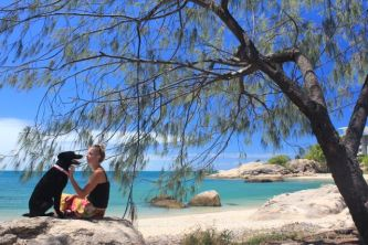 Dodge and I on our road trip to Far North Queensland