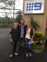 Outside Channel Nine Studios at Mt Cootha