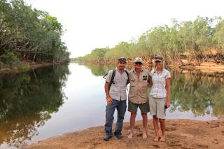 Crocodile Camp in Cape York with Bob Irwin.