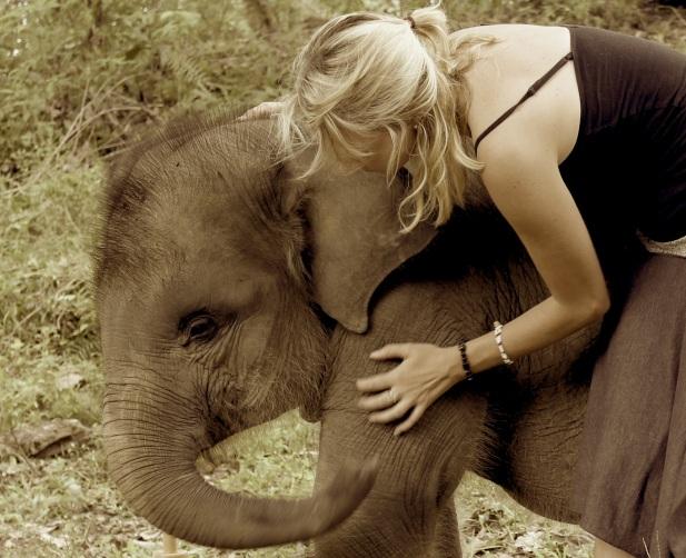 The elephant princess.