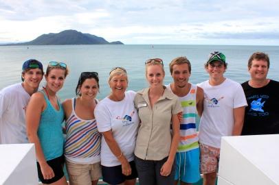 Cairns Turtle Rehabilitation staff and volunteers.