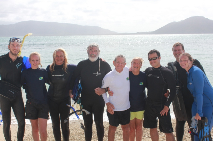 Exploring the Great Barrier Reef with Bob Irwin and Jennie Gilbert.