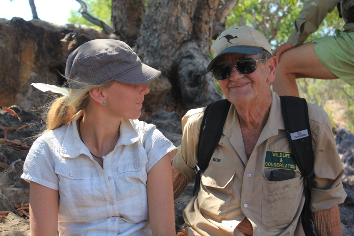 He is my inspiration in all that I do. Bob Irwin.