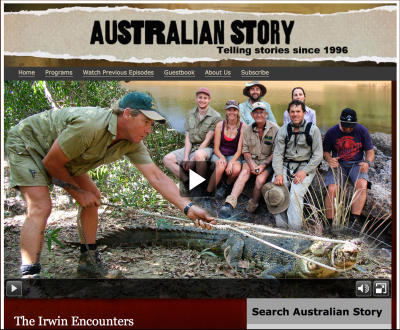 ABC's Australian Story, 'The Irwin Encounters'